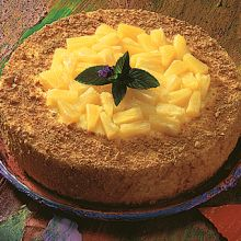 Pineapple Ricotta Cheesecake