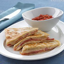 Serrano Ham and Havarti Quesadillas
