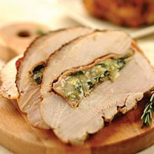 Roasted Turkey Breast with Prosciutto