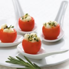 Bocconcini Pearl Filled Cherry Tomatoes