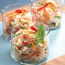 Shrimp and Rice Vermicelli Salad