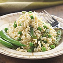 Piave Orzo with Peas and Asparagus