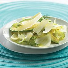 Shaved Parmesan, Fennel and Avocado Salad