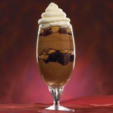 Cherry/Chocolate Mascarpone Parfait
