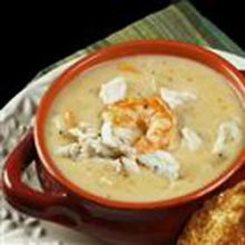 The Best Shrimp and Blue Crab Chowder
