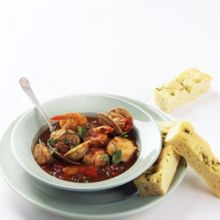 Cioppino -- Shellfish in Marinara Sauce