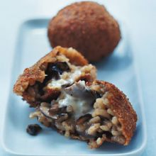 Aranchino Siciliano  --  Sicilian Rice Balls