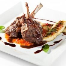 Garlic Rosemary Marinated Lamb Chops