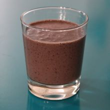 Cacao Blueberry Smoothie