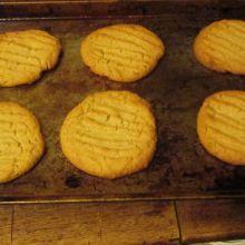 Roy's Peanut Butter Cookies.