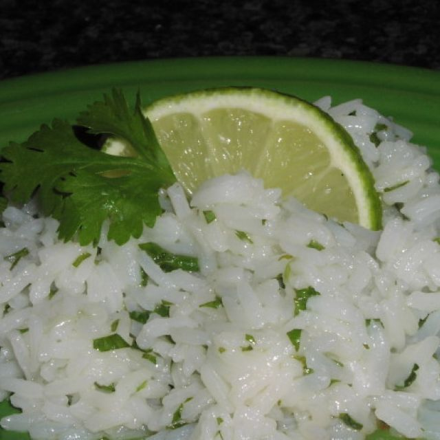 Butter Lime Cilantro Rice