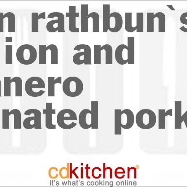 Kevin Rathbun's Scallion and Habanero Marinated Pork Loin