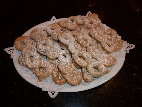 Greek  Koulouria Cookies