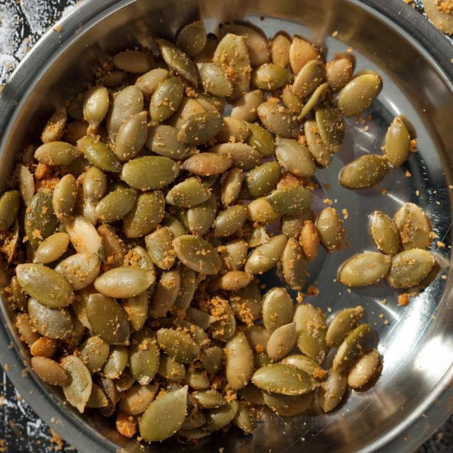 Nacho Cheese Pumpkin Seeds