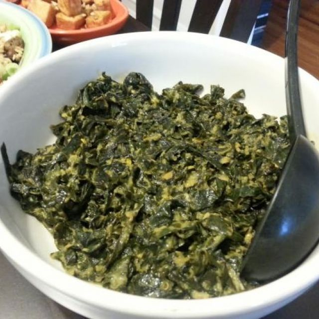 Gulai Sayur (Collard Greens Curry Indonesian Style)
