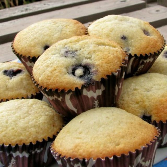 Blueberry Muffins from the Loveless Cafe