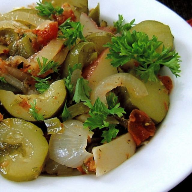 Briami a la Bergy (Vegetable Casserole)