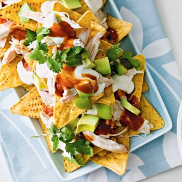 Chicken 'nachos' Salad