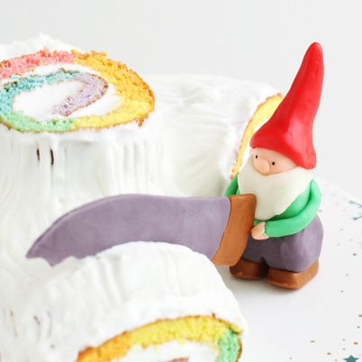 christmas cake decoration idea dwarf yule log bche de nol - Decoration Buche De Noel