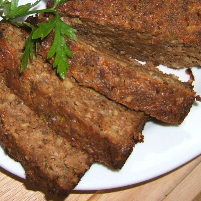 Cottage Cheese Roast (Vegetarian Meatloaf)