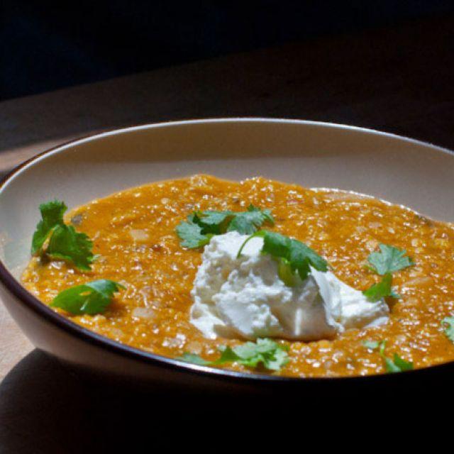 Dal (Spiced Lentil Soup)