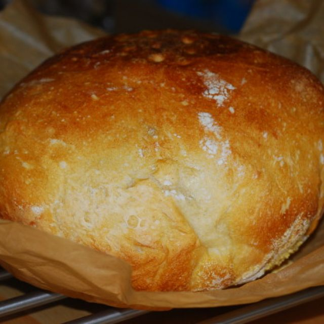 Duonyte's No-Knead Sourdough Bread