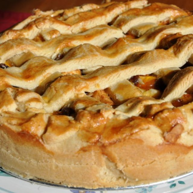 Dutch Apple Pie (Oma's Appeltaart)