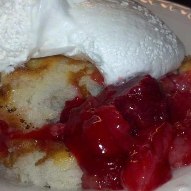 Easy Cherry Cobbler - from Gooseberry Patch