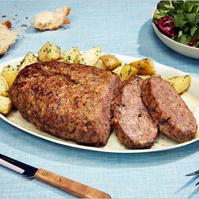 Fancy Meatloaf