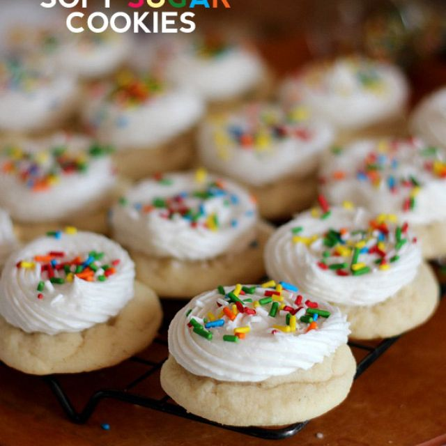Favorite Soft Sugar Cookies