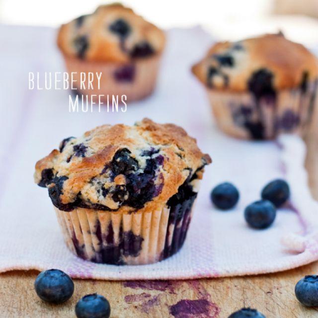 Gwyneth's Mom Blythe's Blueberry Muffins