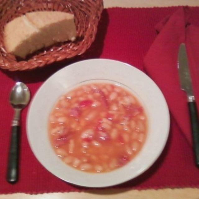 Ham Bean Soup (Pressure Cooker)