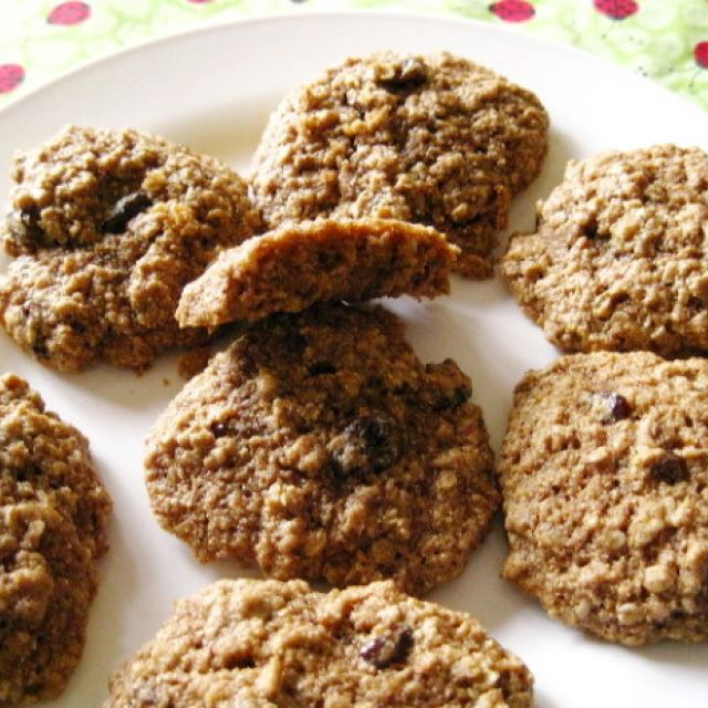 Healthy Oatmeal Raisin Cookies (A.k.a. Meag's Perfect Cookie)