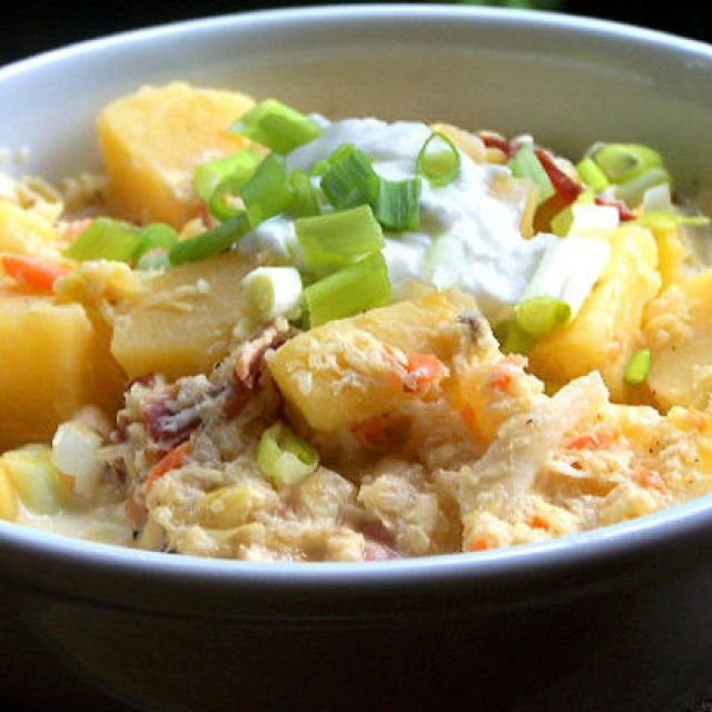 Hearty and Healthy Potato Soup