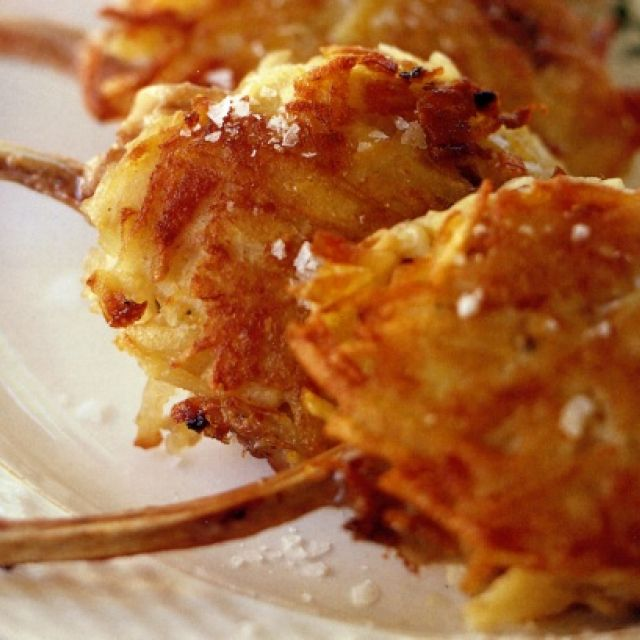 Lamb Cutlets with Horseradish Rosti