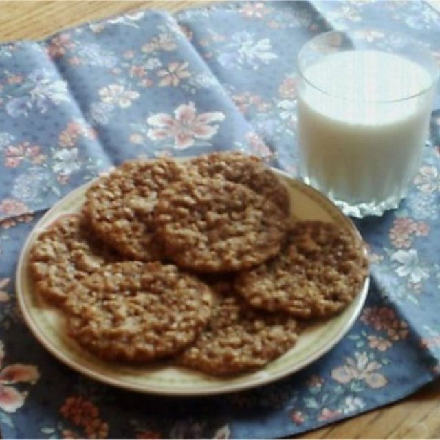 Maple Oat Chewies (Cookies)