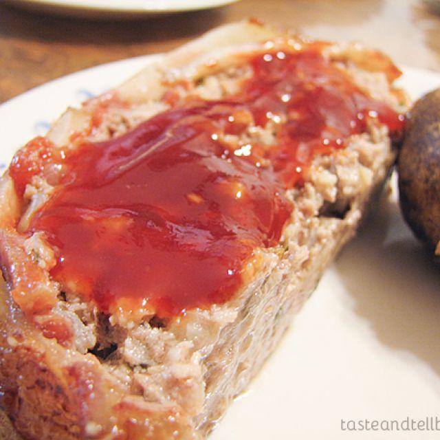 Meatloaf with Brown Sugar-Ketchup Glaze