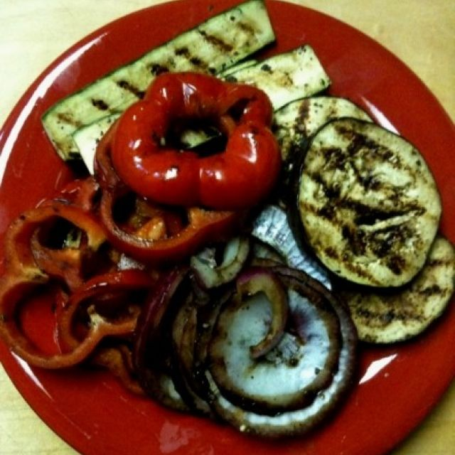 Barbecue Grilled Vegetables