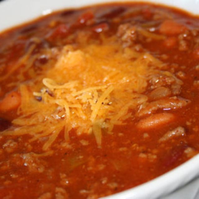 My Family's Favorite Chili