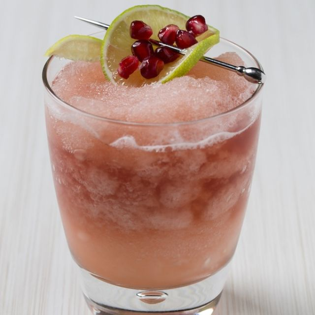 Pomegranate Thanksgiving Cocktail