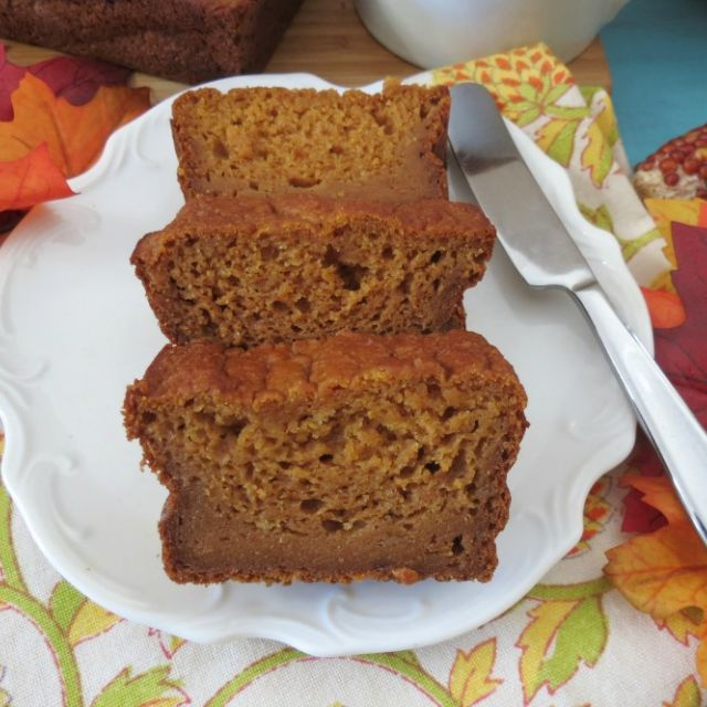 Pumpkin Bread (Egg-Less)