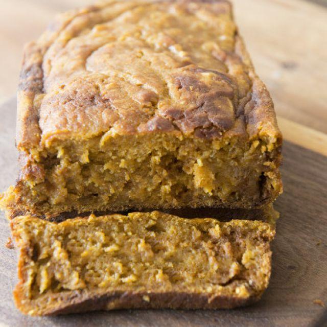 Super Easy Pumpkin Bread