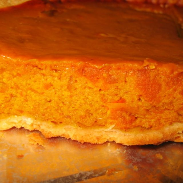 Thanksgiving Pumpkin Pie (Uses Fresh Pumpkin)