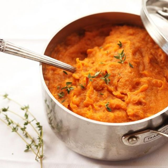 The Best Mashed Sweet Potatoes