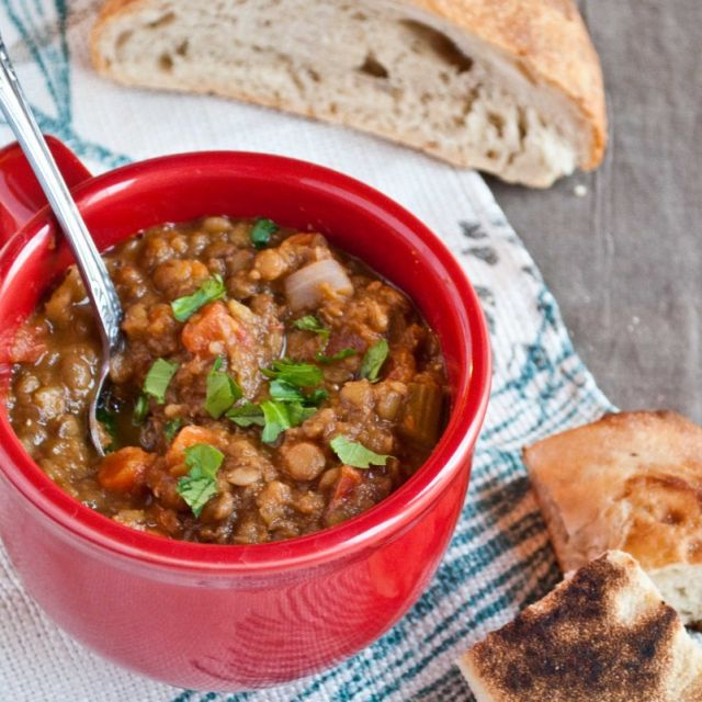 Vegan Gluten Free Lentil Soup