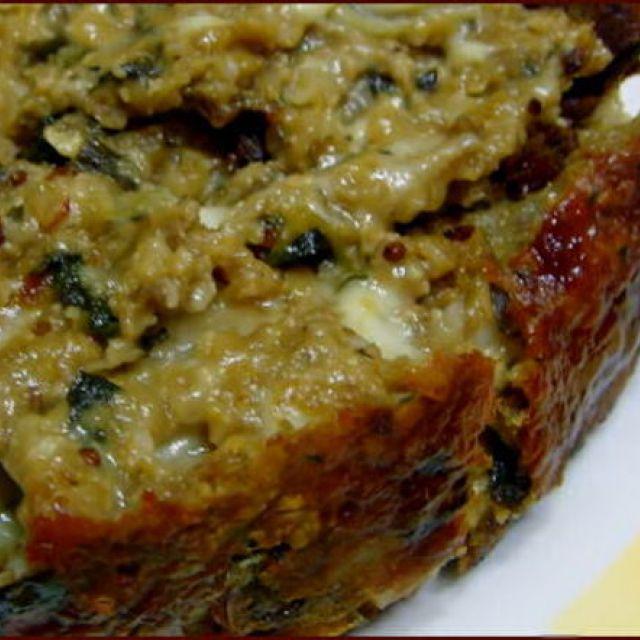 Vegetarian Meatloaf - Healthy