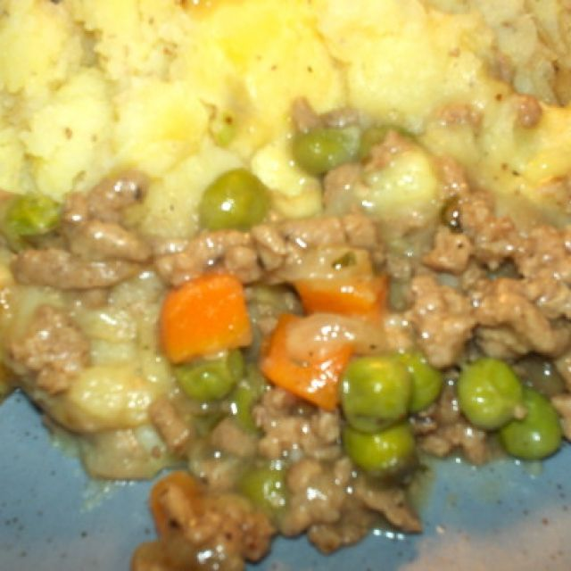 Weight Watcher's Shepherd's Pie