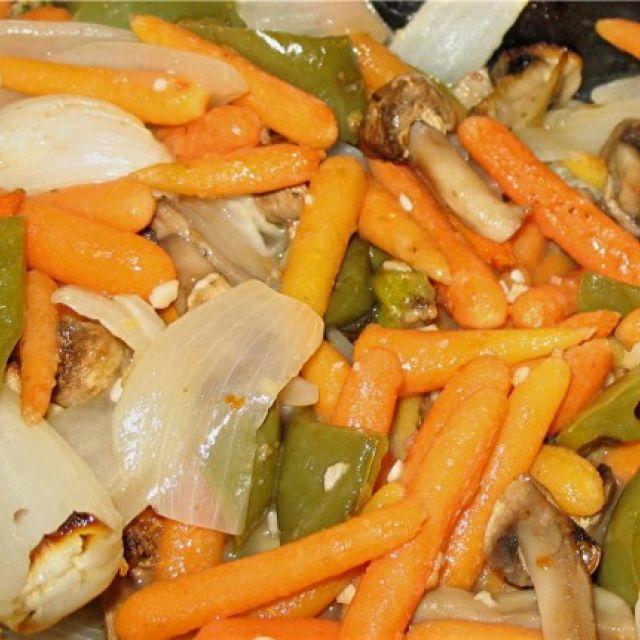 Zesty Roasted Vegetables