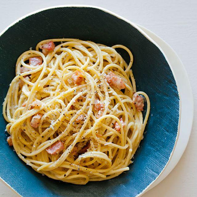 Basic Pasta Carbonara