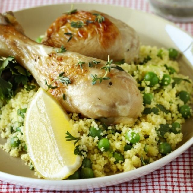 Chicken with Citrus Couscous
